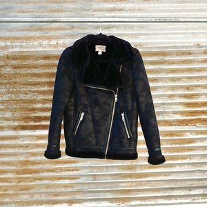Black Zip- Up Jacket